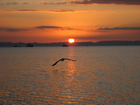 La Paz, Mexico: Sunset from Playa Balandra