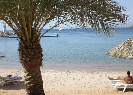 Aqaba, Jordanien: La plage