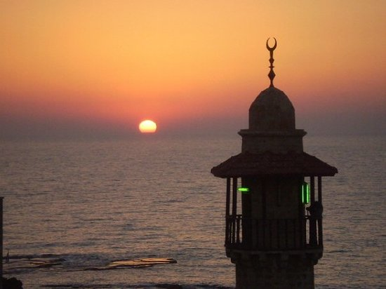Tel Aviv, Isral: Sunset in Old Jafa (Yafo)