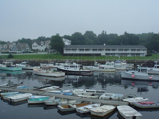 The Ogunquit Inn: the marina
