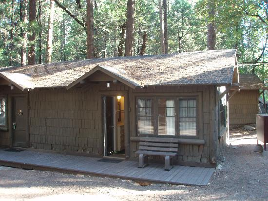 Cabin Exterior Picture Of Curry Village Yosemite