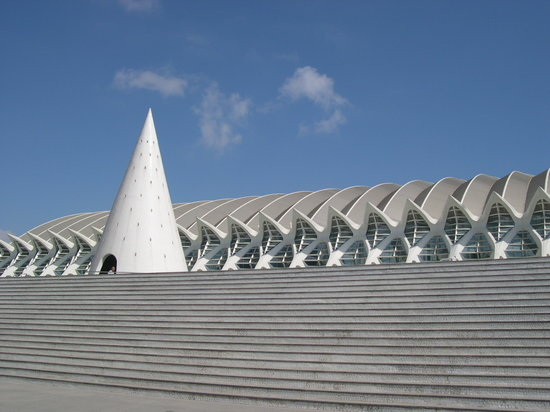 Valencia, Spagna: La ciudad del los Artes Y las Ciencias (the City of Arts and Sciences)