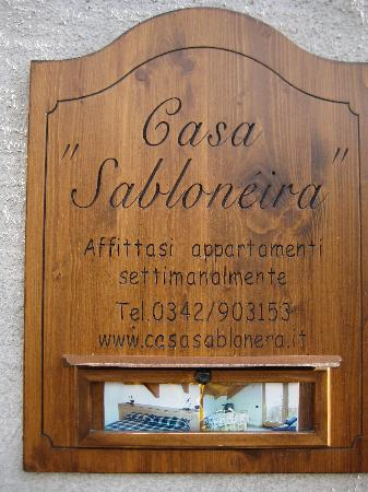 casa vacanze sablonera: The hotel information
