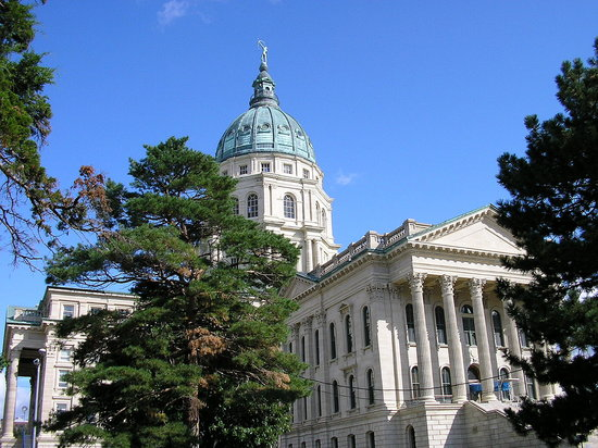 Topeka, KS: State Capitol Building