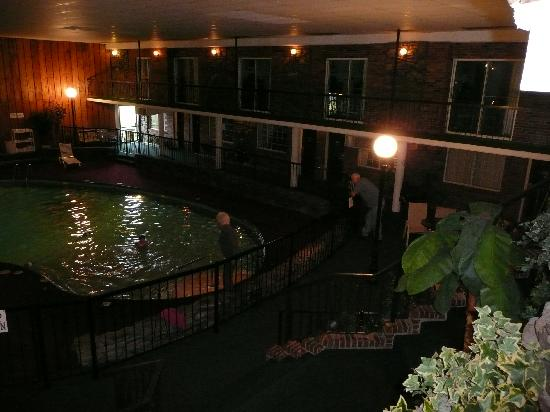 Pool Area From 2nd Floor Picture Of Ramada Mountain Home