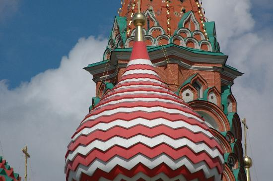 St. Basil's Cathedral (Pokrovsky Sobor): cattedrale san basilio mosca russia