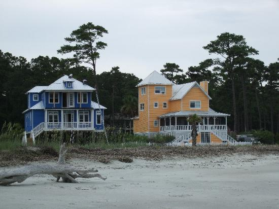 Palmetto Dunes Oceanfront Resort: Houses on beach