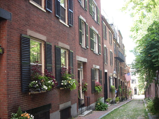‪بوسطن, ماساتشوستس: Beacon Hill street‬