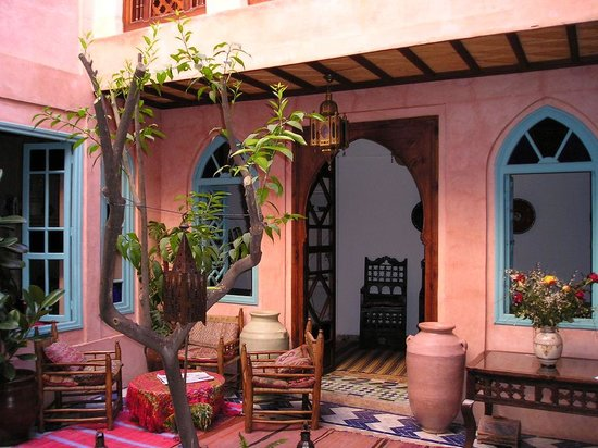 Riad Souika: the courtyard