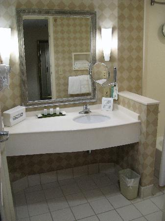 Holiday Inn Chantilly - Dulles Expo: Bathroom