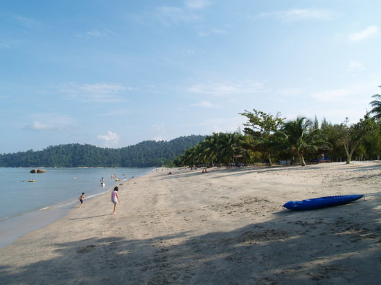 Lumut, : The Beach