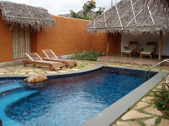 Orange County Resorts Kabini: The Private Plunge pool in our Pool Hut