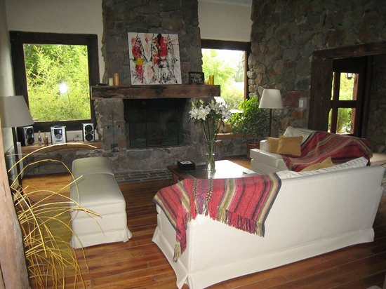 living room/gathering area at Lares de Chacras