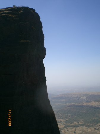 Khandala, Indie: the 90 degree wall