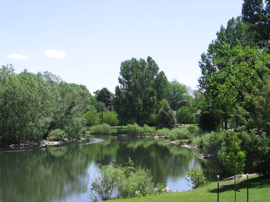 Greeley, CO : Glenmere Park Pond 
