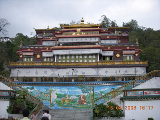 Gangtok, India: Rumtek Monestry