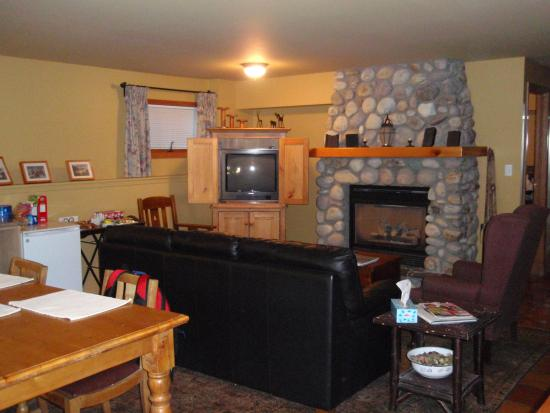Bed & Breakfast on Mountain Lane: Living Area