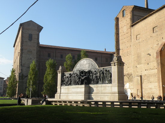 Parma, Italien: Verdi&#39;s monument - Ximenes 1920