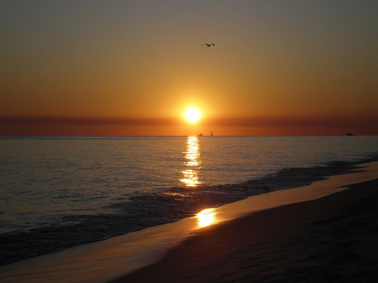 Destin, Floride : Breathtaking sunset over the gulf 