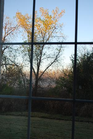 Country Inn & Suites: This is the view from our room in the morning