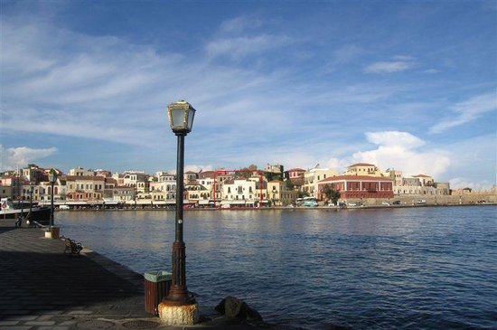 Chania Town, Greece: Old harbour Chania