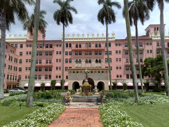 Boca Raton, Floride : The Pink Palace