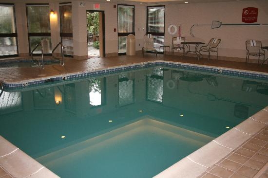 Courtyard by Marriott Lynchburg: Indoor pool at the Courtyard Lynchburg