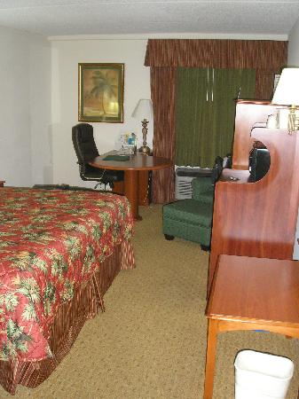 Quality Inn & Suites: Spacious room