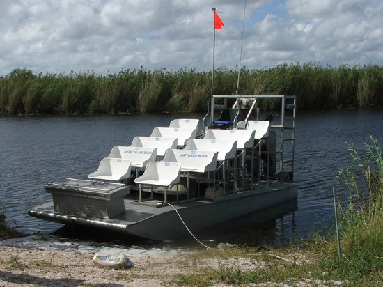 Florida Airboat Rides and Tours in Orlando Florida