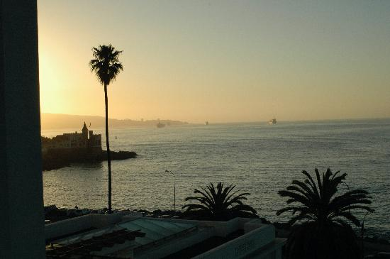 Hotel del Mar - Enjoy Vina del Mar - Casino & Resort: View from our balcony