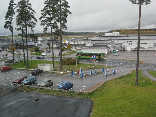 Connect Hotel Skavsta: View from the window (Skavsta airport)