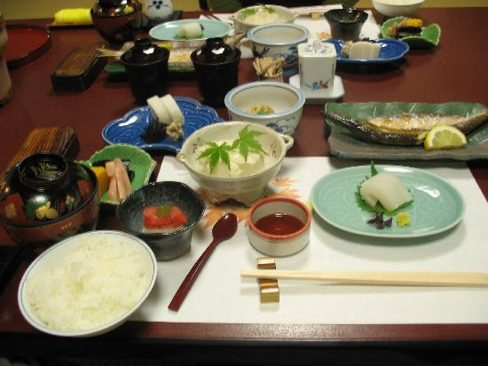 Hotel Senkei: Breakfast at Yamagaso