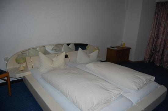 Lahnstein, Germany: our bed