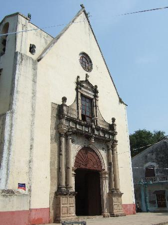Main church in Moti Daman
