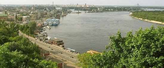 Ucrania: River Boat Station