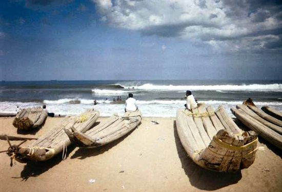Chennai (Madras), India: Beach