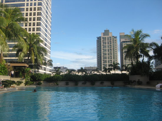 Makati, Philippines: Poolside