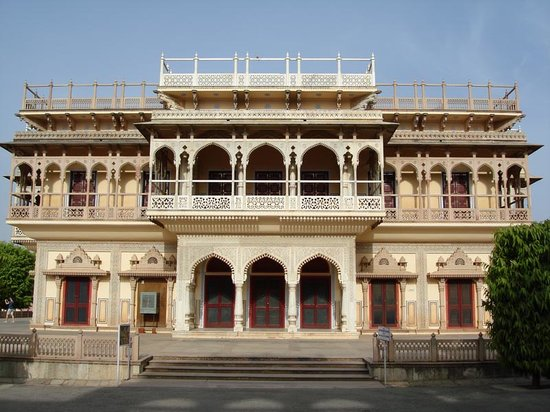 Rajasthan, Indien: jaipur palace