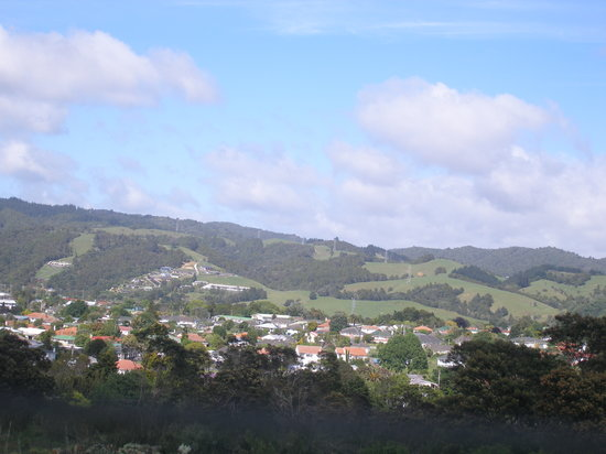Whangarei, Nueva Zelanda: Surrounding view from balcony