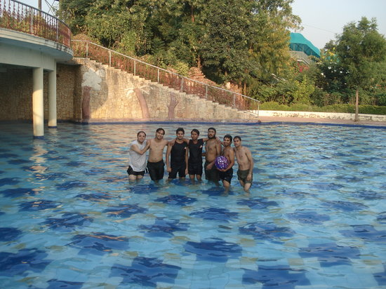 Ahmedabad, Inde : pool 3 