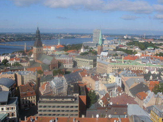 View of Riga from St.Peters