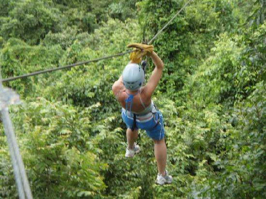Santa Teresa, Costa Rica: Canopy tours were so much fun!