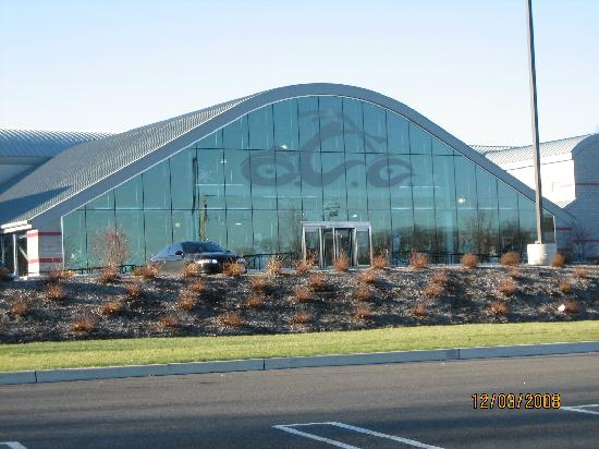 Hilton Garden Inn Newburgh/Stewart Airport: Orange County Choppers Building~Next To Hotel~December 2008.