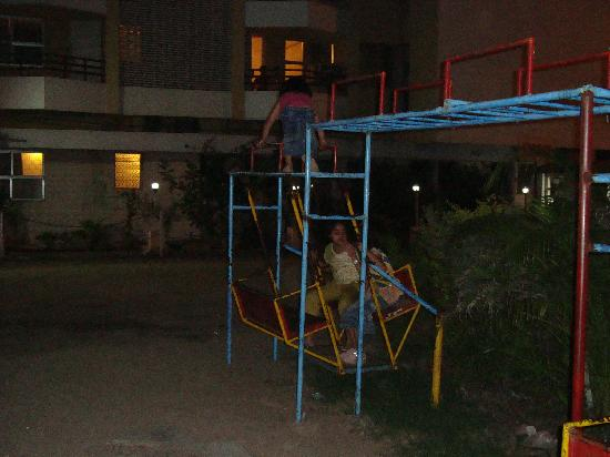 Hotel Bhagyalaxmi: small playground for children