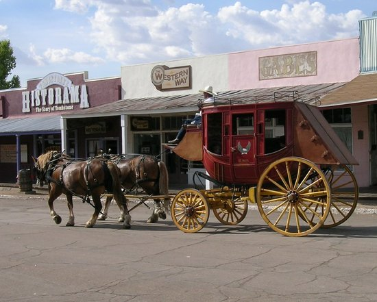 Tombstone, AZ : All aboard for Dodge City