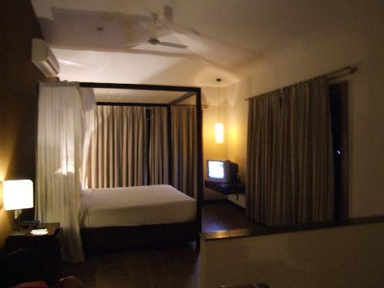 Colva, India: bedroom on the 1st floor