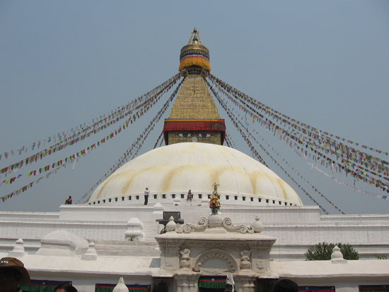 Nepal: buddha temple