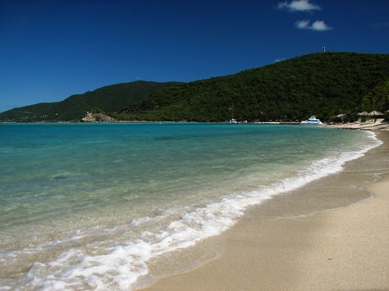 Virgin Gorda: Beach at Little Dix
