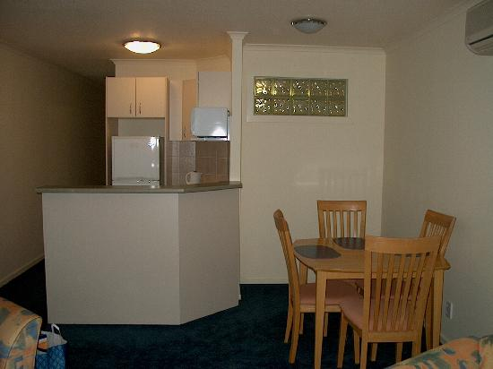 Convenient Dining Area In Front Of The Kitchen Picture