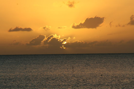 Cabo Rojo,  : Sunset from the room